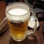 ぶあいそ - 生ビール