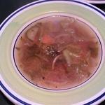 オステリア・ボーノ - ランチのスープ ミネストローネ