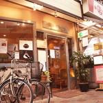 カフェオーディトリアム - 店舗入口(ヤッホーロード内)