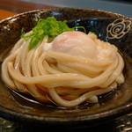 はなまるうどん - 温玉ぶっかけ(冷・小294円)