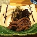 京都牛懐石 稲吉 - ごはんのお漬物