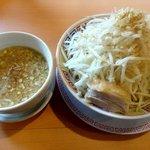 太一商店 - こちらはつけ麺の野菜増し:650円
