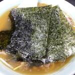 がんこ亭 - ラーメン(並) @¥600-麺かため指定