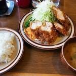 キッチン南海 - チキンカツライス¥630
