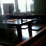 希望軒 - テーブル席