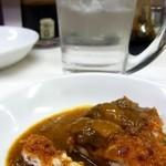 キッチン南海 - チキンカツ(カレーがけ)