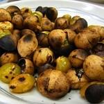 キッチン南海 - 焙りギンナン