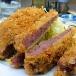 キッチン南海 - ハムカツ