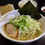 虎威原 - 料理写真:らーめんセット
