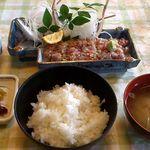 磯料理 みずるめ - 料理写真:たたき(なめろう)定食1000円