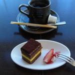 ダイニング十五家 - デザートとコーヒー