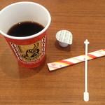 ももから こーたろー - 食後のコーヒーは100円でした。