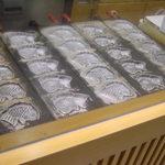 サザエ 戎さんたい焼 - 銀色に輝く焼き型