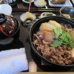 西麻布 かねき - 牛鍋定食¥1,000