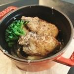 リシュール 苦楽園 - 熱々!!牡蠣と丸大根のココット焼き フォンデュ仕立て