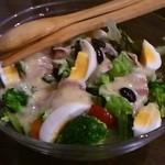 ゆきまる - 料理写真:ゆきまるサラダ