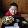 和八 - 料理写真:はげ盛フェア限定「キムチ味豚トロ丼(880円)」