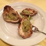 ファンダンゴ - 牡蠣とジェノベーゼソース