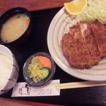 17019541 - ロースカツ定食