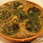 ラミティエ - 【前菜】エスカルゴとつぶ貝のオーブン焼き ブルゴーニュ風