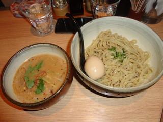 麺屋宗&SOU 中目黒店 - 味玉つけ麺