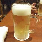 上野市場 - 生ビール