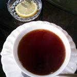 Kohihausunakazawa - セットのホットレモンティー