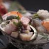 丸尚 - 料理写真:会席料理のお造り(例)