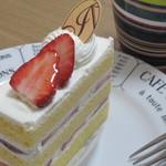 アブルーム  - 料理写真:ショートケーキ