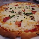 シーダイナー - ピザ(ベーコン&マッシュルーム)