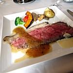 17029343 - サーロインのローストビーフと野菜のマリヤージュ