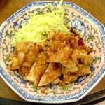 謝謝 - 油淋鶏(鳥の唐揚げ特製ソースかけ)