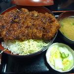 柏屋食堂 - 上 名代ソースカツ丼