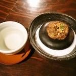 北浜 土山人 - 飛露喜と焼き味噌