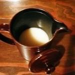 北浜 土山人 - 蕎麦湯