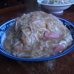 一心亭 - 細麺皿うどん(並)1050円