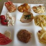 コンチネンタル料理 ミストラル - 前菜&温料理