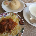 コンチネンタル料理 ミストラル - パスタ・パン・スープ