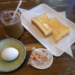 ミミ - モーニングサービス (コーヒー280円+1000円のサービス)