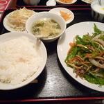 岩香屋 - 青椒肉絲定食 \750