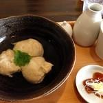自家焙煎 花の木珈琲店 - そばがき、そば豆腐