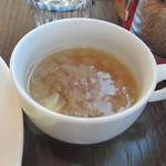 ぽたかふぇ。 - 玉ねぎのコンソメスープ
