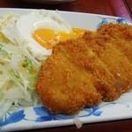 ヤマトモチスエヒロ食堂 - とんかつ