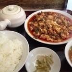 17037288 - 麻婆豆腐。うま辛!