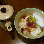 旬鮮酒場 Dank - しばづけ丼(茶漬け)¥390 2013.1.26