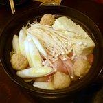 旬鮮酒場 Dank - 鶏なべ¥890×2人前 2013.1.26