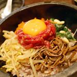 鐵玄肉匠 渋谷 - 【ランチ】石焼きユッケビビンバ