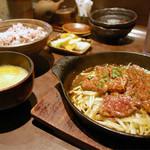 鐵玄肉匠 渋谷 - 【ランチ】和牛炭火焼きカルビ定食