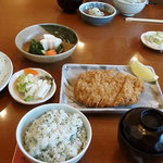 とんかつステーキ まこと亭 - 料理写真:特上ロースカツ定食
