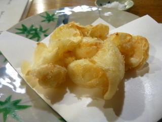 割烹みや田 - ゆりねの天ぷら